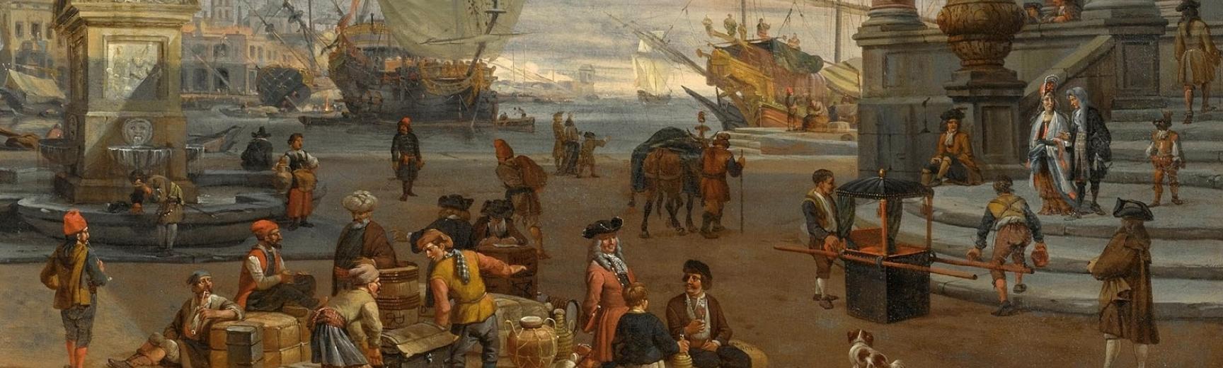 storck harbour scene