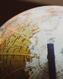 desk globe on shallow focus lens 335394