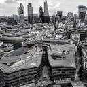grayscale aerial city skyline photography 1528371
