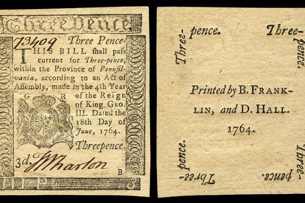 us colonial pa 115 pennsylvania 18 jun 1764