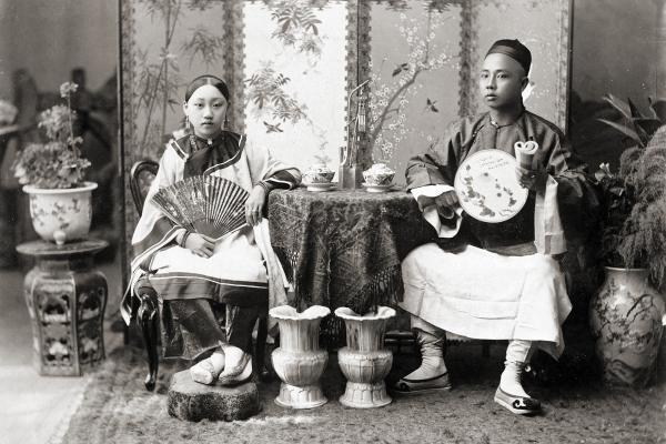 sino burmese merchant wife