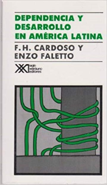 Cover of the First edition of Dependencia y Desarrollo, published in 1969