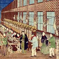case 11 japanese silk factory